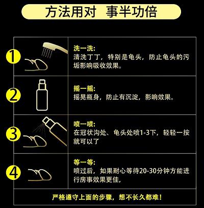 【图解】相模延时喷剂使用方法